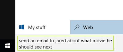 cara menulis email di Windows 10