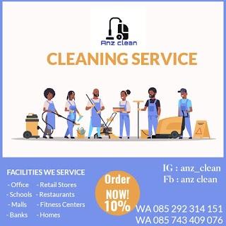 Tiap hari hujan, rumah nampak berserakan dan kotor. Ingin bersih bersih tapi ga ada waktu? solusinya @anz_clean