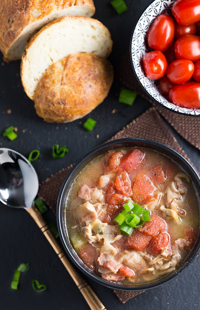 manhattan clam chowder recipe