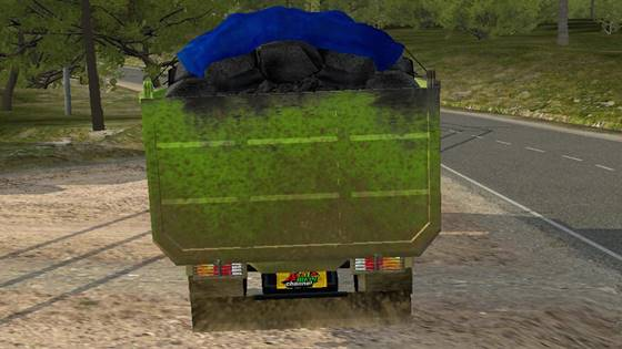 mod bussid hino dutro dump