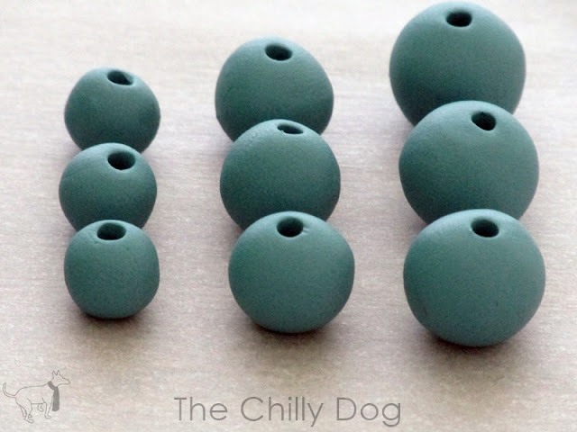 Learn how to make simple clay beads with an inexpensive Sculpey bead making kit.