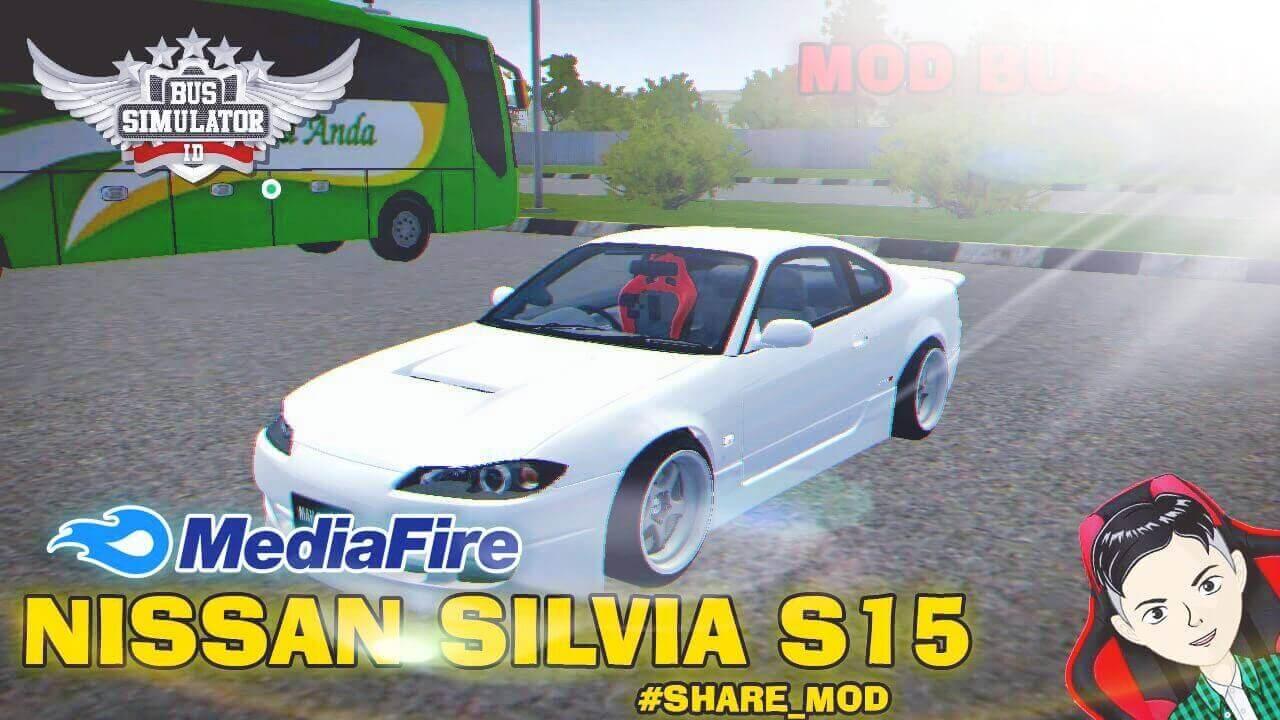 Mod Bussid Nissan Silvia S15 Car