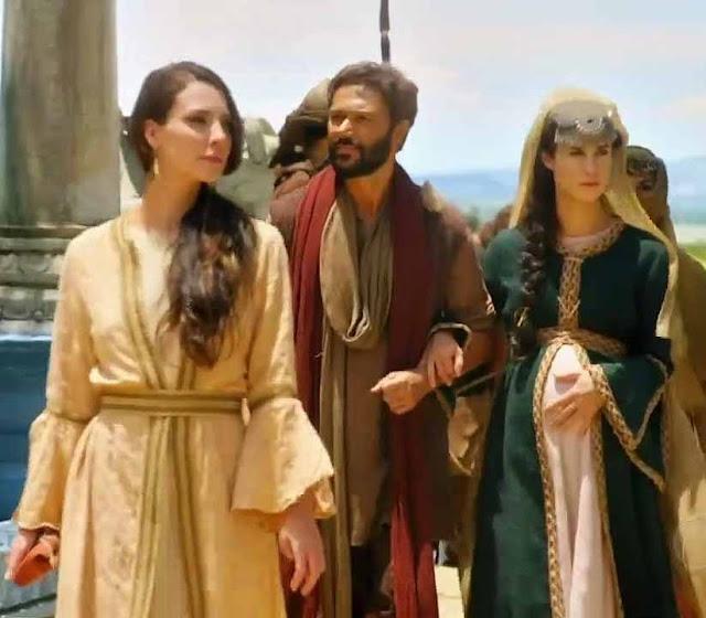 Nadi, Terá e Amat chegando em Genesis