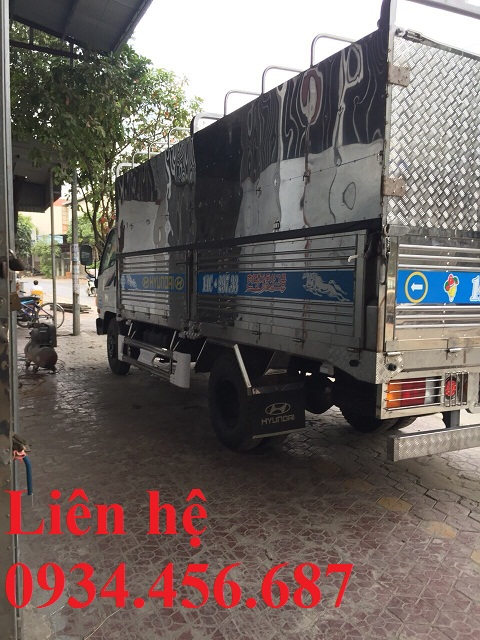Đóng thùng xe tải Hyundai 110XL
