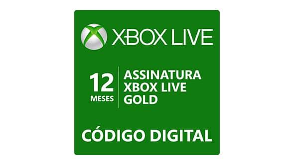 Assinatura Xbox Live Gold de 12 meses - Microsoft Store