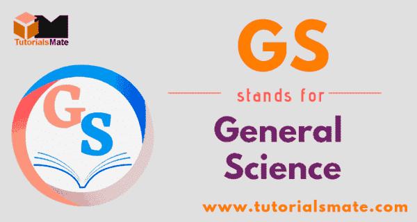 GS Full Form