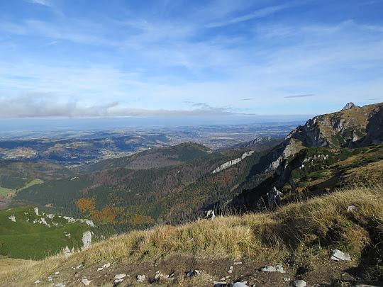 Spojrzenie na Dolinę Miętusią