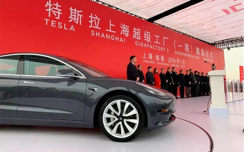 Tesla Model 3 en China