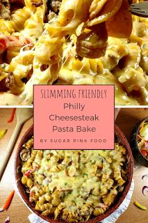 Philadelphia Cheesesteak Pasta Bake Recipe philly cheesesteak