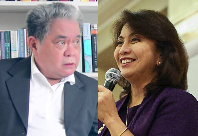 Tiglao: 'After UN message, Leni should just resign'