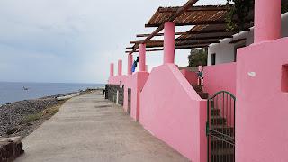 Zona porto Alicudi