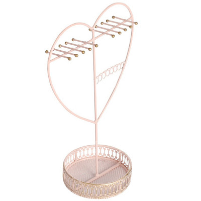 Shop Nile Corp Wholesale Metal Heart Shape Jewelry Display Organizer