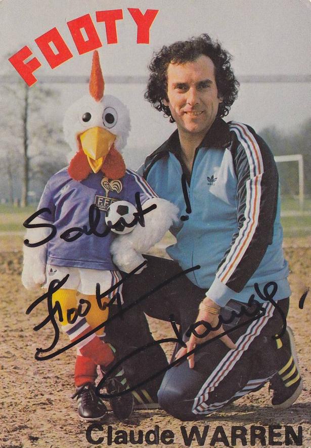 CLAUDE WARREN. Sa vie avec Footy le coq.