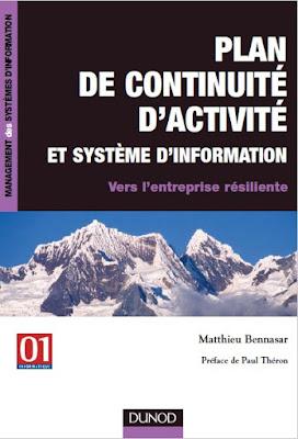 Télécharger Livre Gratuit Plan de continuité d'activité et système d'information pdf