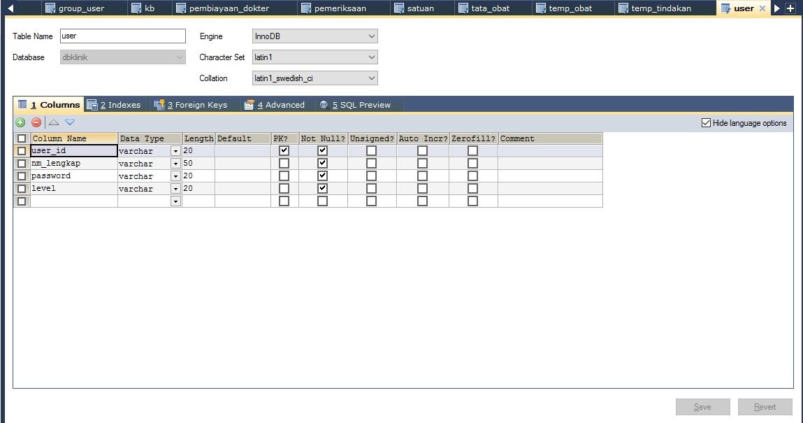 Membuat Database Mysql Menggunakan Sqlyog - Part 2.2