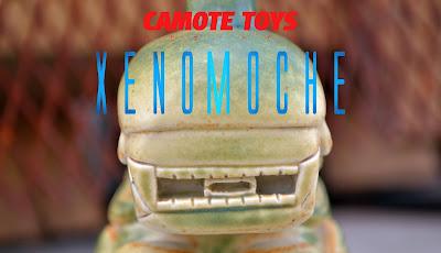 "Alien ""Xenomoche"" Ceramic Art Toy by Camote Toys"