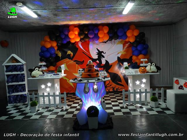 Decoração de festa infantil Halloween - Aniversário - Decoração provençal