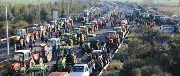 Βγάζουν τα τρακτέρ στα Φάρσαλα οι αγρότες την ερχόμενη Πέμπτη