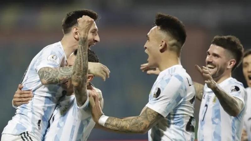 Kalahkan Kolombia Lewat Adu Penalti, Argentina Hadapi Brasil di Final Copa America 2021