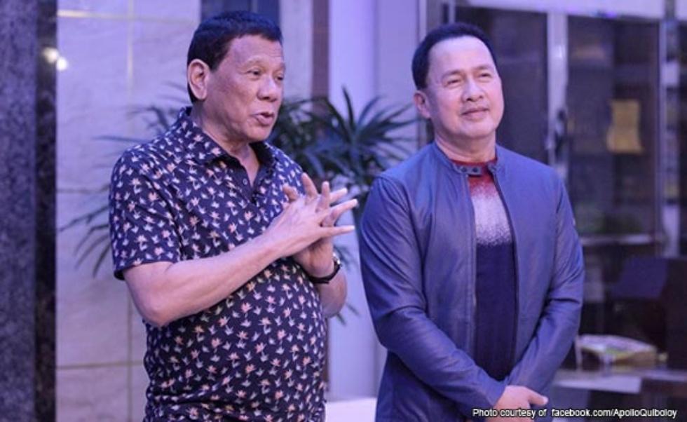 Duterte, Quiboloy