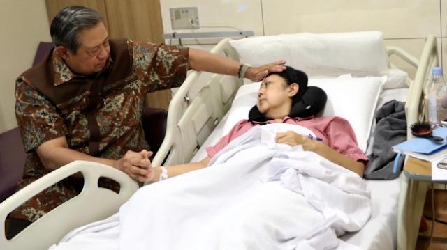 Innalillahi, Ibu Ani Yudhoyono Tutup Usia