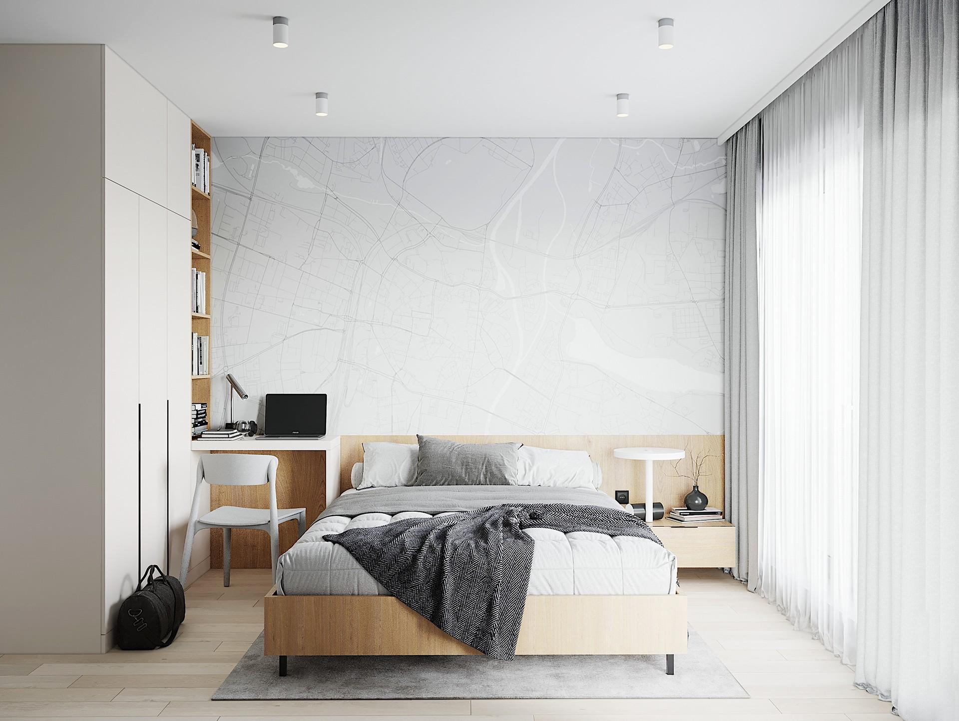 Thiết kế nội thất phòng ngủ: Phong cách Scandinavian (Bắc Âu)