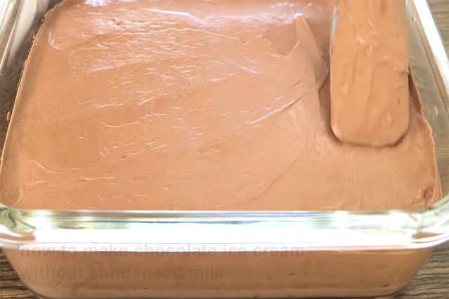 How to make chocolate ice cream without condensed milk