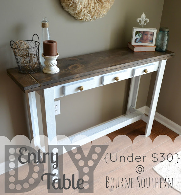 Someday Crafts Diy Entry Table