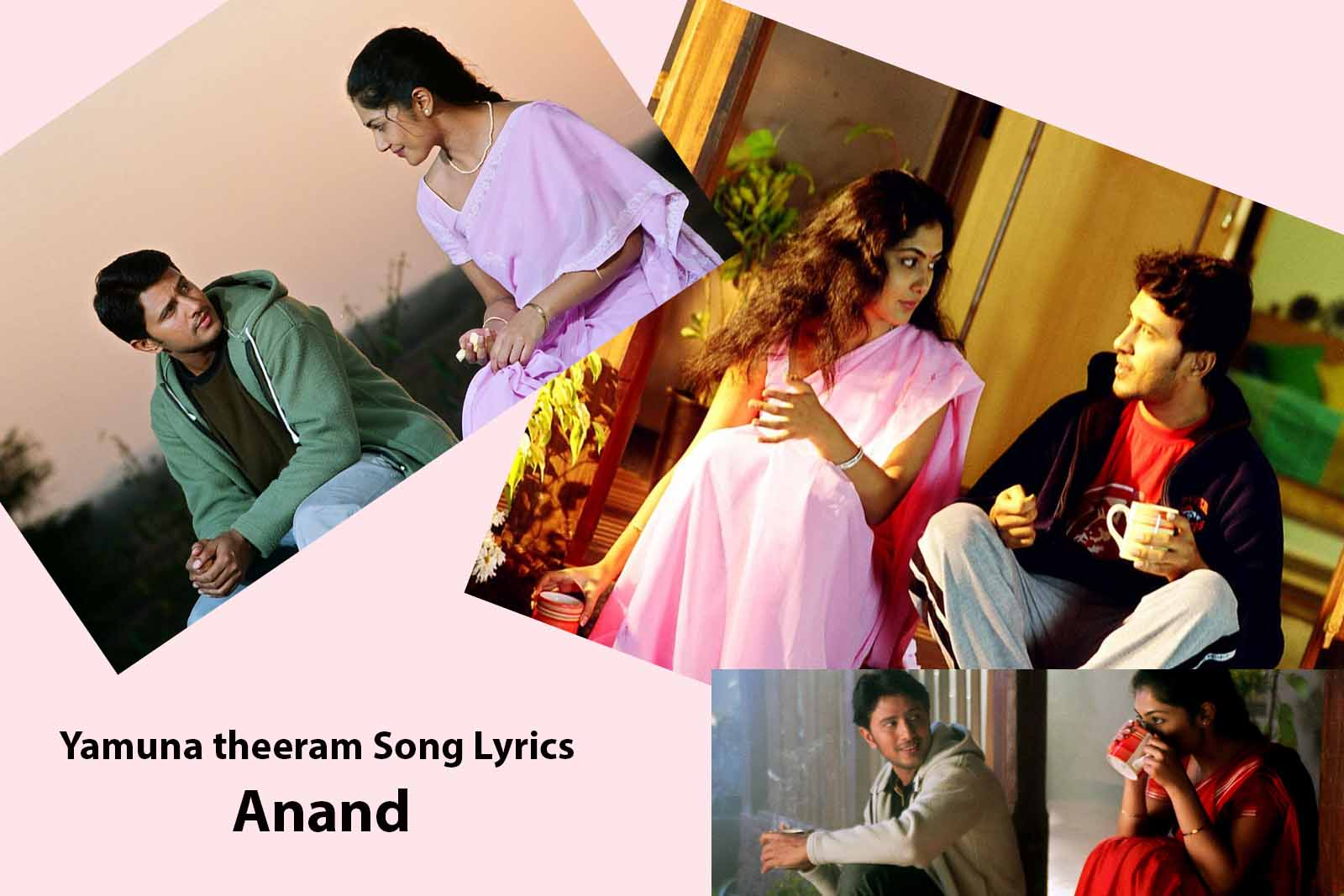 SouthIndianSongLyrics: Anand Telugu Movies Songs Lyrics ...