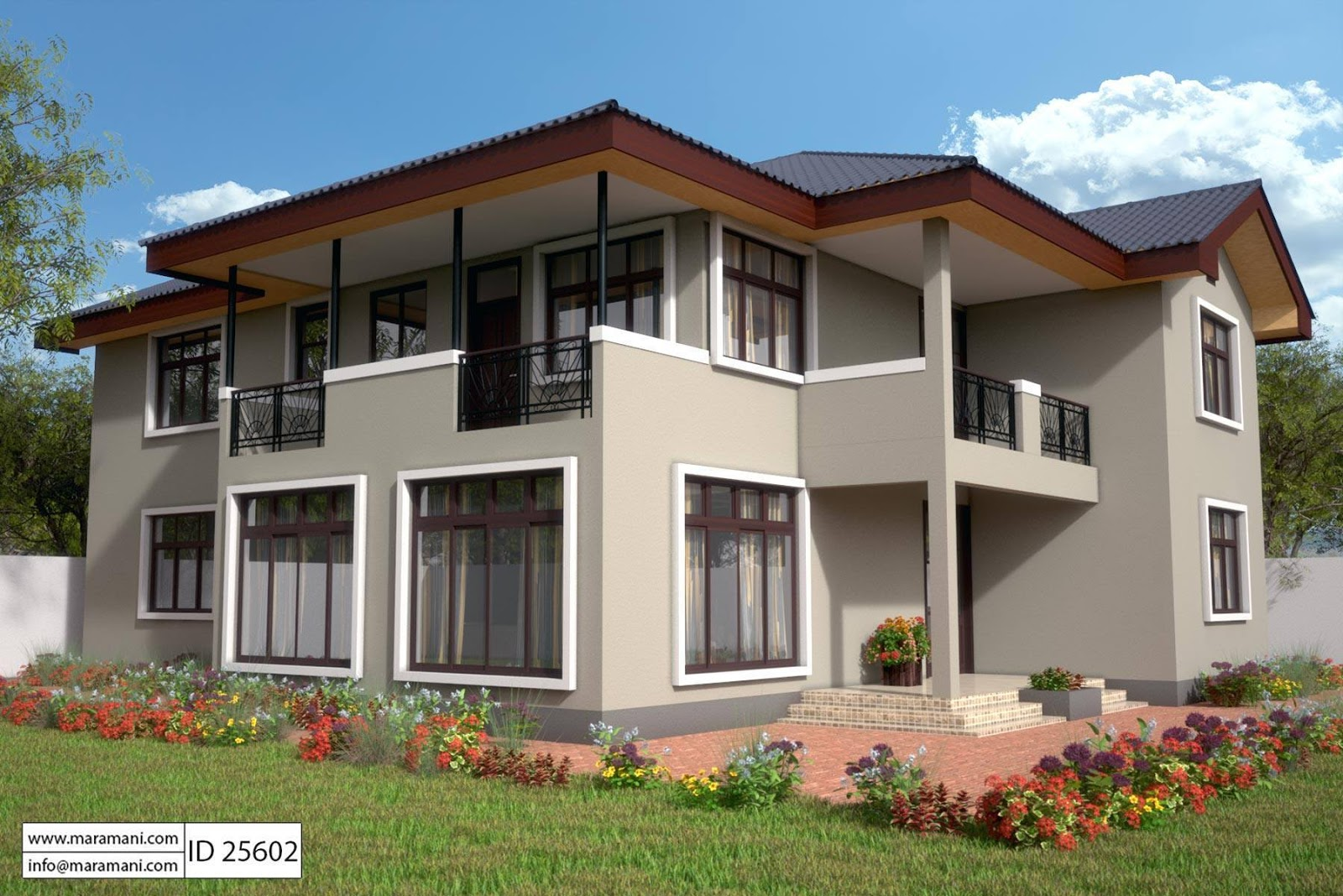 "We all know that in our minds we will answer a ""yes"". Living in a huge sized-house with the exact feature and designs is the dream of everyone. Some of us want to live a simple life but we should not deny the fact that we also want to have the best house for our living.  The following are big two-story house designs you may consider if you are looking for a big and spacious home. Considering this type of houses gives you a lot of benefits. Building a two-story type of house will make your life more livable and enjoyable. You do not need to go to another resort to celebrate the summer or an occasion in your family because it includes a wide space and area. Your house will also fit a large group of people in times of parties and occasions.   So if you are planning to build your own and big future home with a beautiful facade, you can scroll down and check these 14 awesome photos of two-story houses to get some ideas."