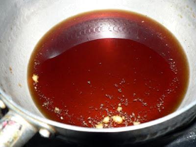 カレイの煮汁