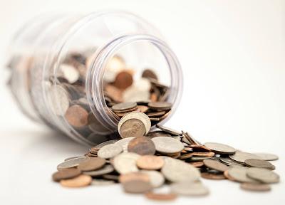 A coin jar