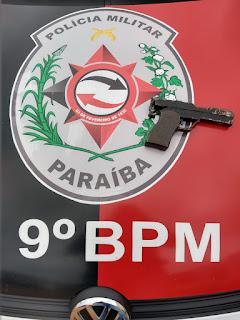 Policia de Cubati tira de circulação arma de fogo de fabricação artesanal
