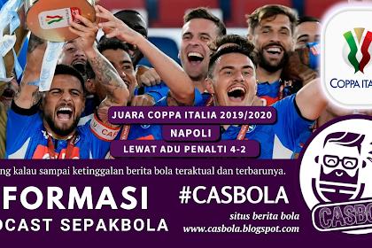 Napoli Juara Coppa Italia Lewat Adu Penalti