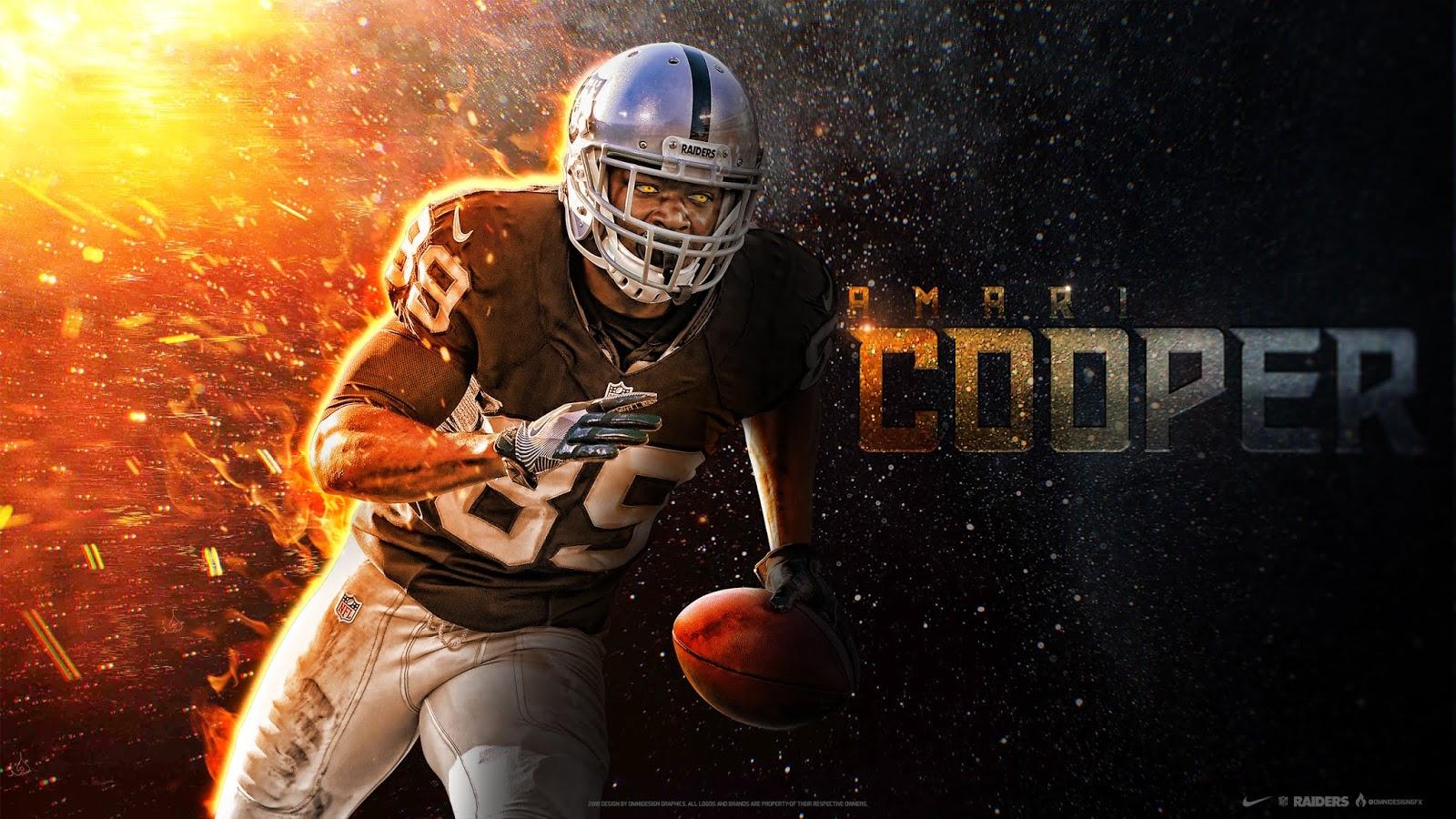 Amari Cooper, Oakland Raiders, NFL, Football, Wide Receiver, HD, Sports