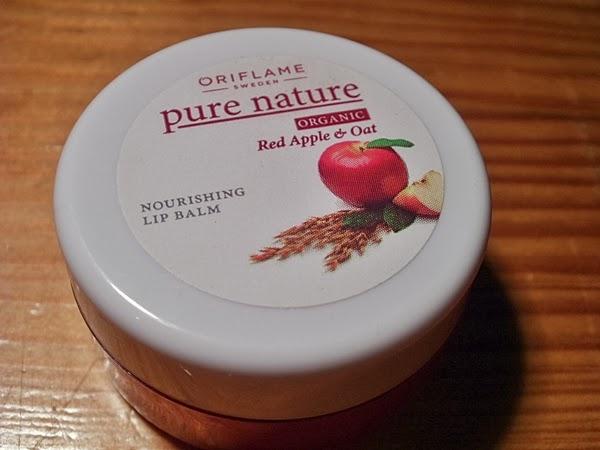 Balsam do ust Oriflame Apple Oat czerwony
