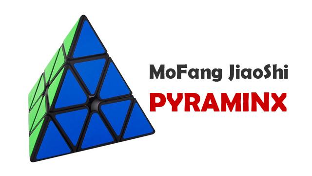 Rubik pyraminx murah keluaran sub brand Moyu dalam seri Cubing Classroom