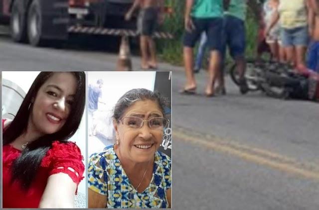 Mulher morre após acidente na BA-262, Tia morreu ao saber do acidente em Anagé