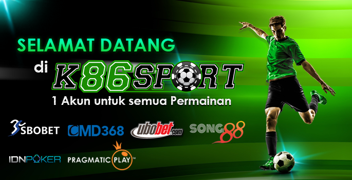 Welcome to K86Sport, Bandar Bola Terpercaya