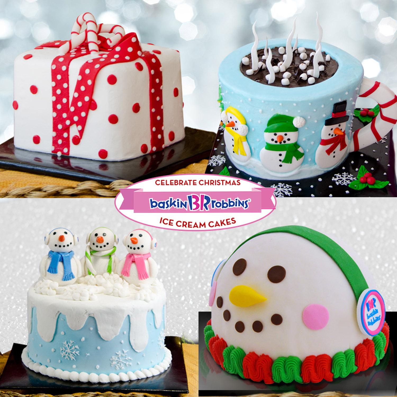 Baskin Robbins Ice Cream Cakes Makes Christmas More Special