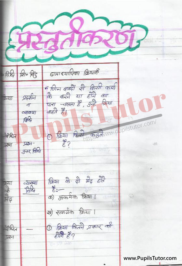 Hindi ki Mega Teaching Aur Real School Teaching and Practice Path Yojana on Kriya kaksha 4 se 8 tak  k liye