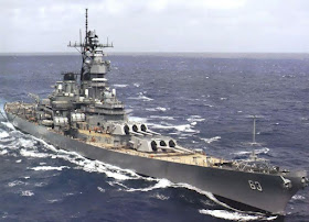 Image Attribute: The file photo of USS Missouri (BB-63) after the refit / Source: US Navy/Wikimedia
