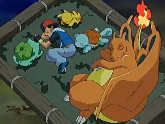 Ash e seus Pokemon