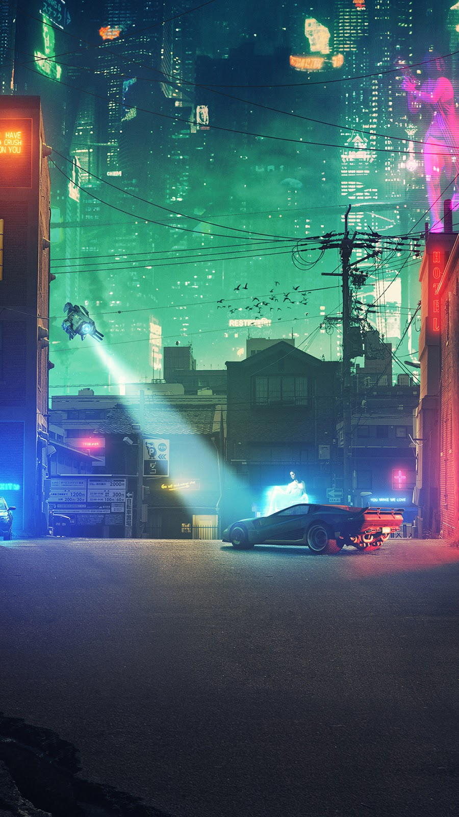 cyberpunk wallpaper