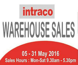 Intraco Warehouse Sale