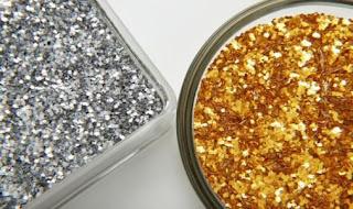 Gambar Logam Emas dan Perak