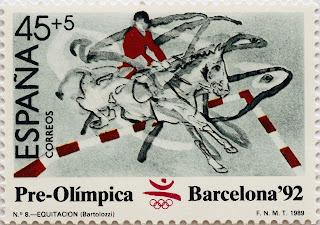 PRE-OLÍMPICA BARCELONA 92. EQUITACIÓN