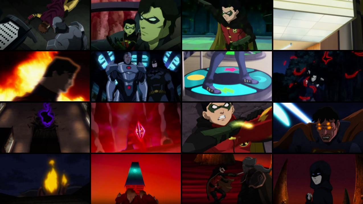 Justice League vs Teen Titans 2016 BluRay 400MB