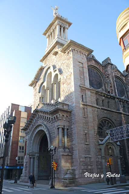 Basílica del sagrado Corazón de Gijón