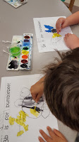 Watercolor drawing fine motor Teach Magically